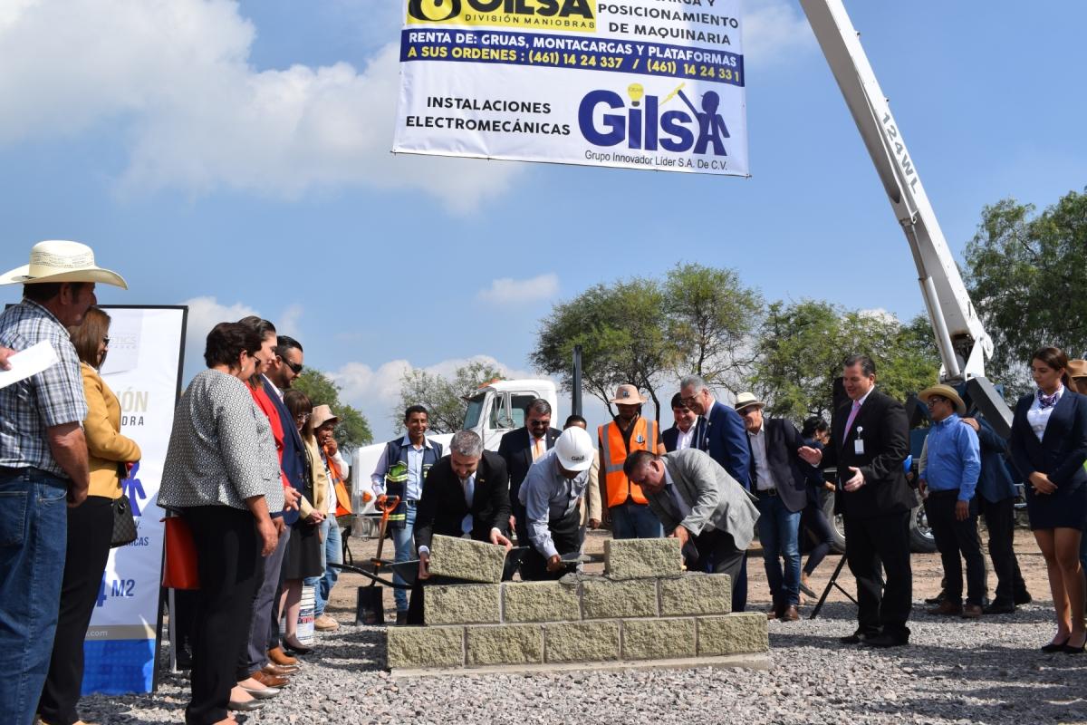 Se inaugura Parque Industrial NOVOTECH, generará 800empleos.