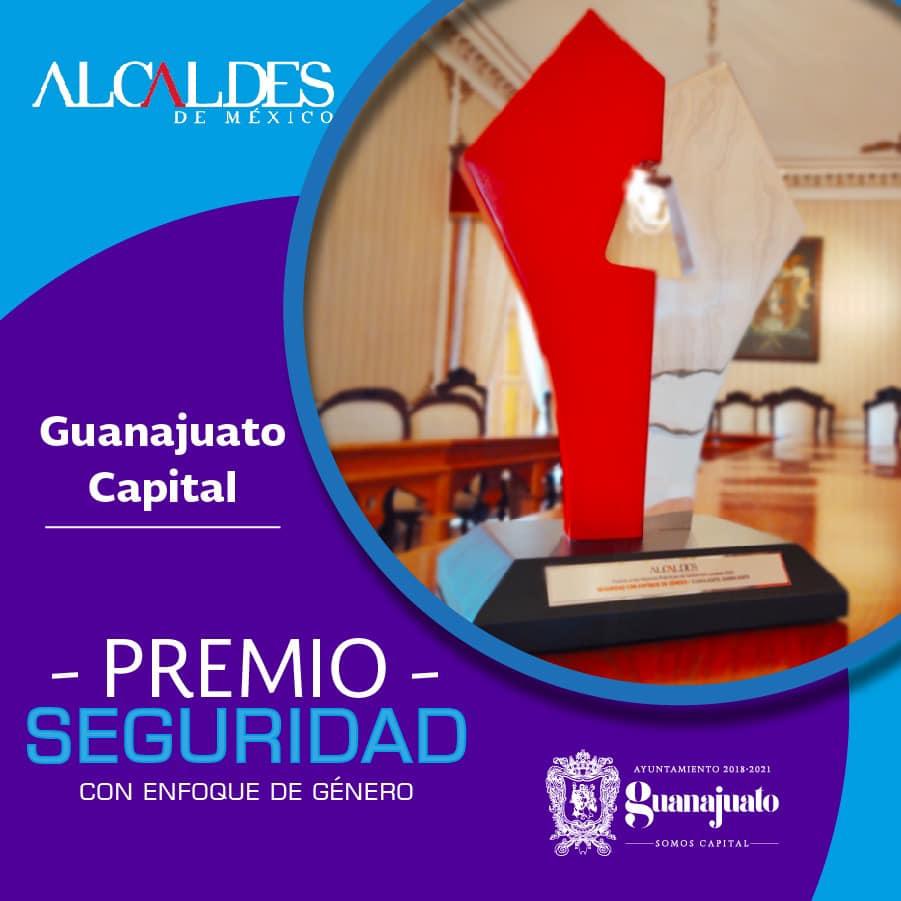 Gobierno de Alejandro Navarro gana premio nacional deseguridad