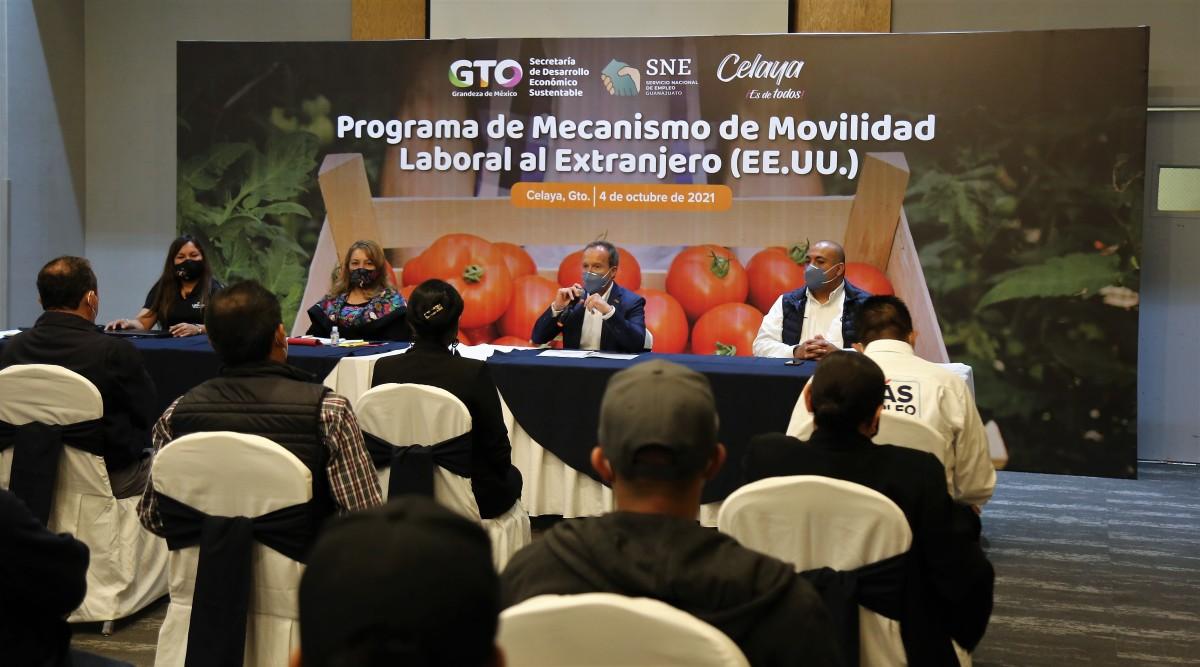 SDES participa en la movilidad laboral ordenada y formal alextranjero