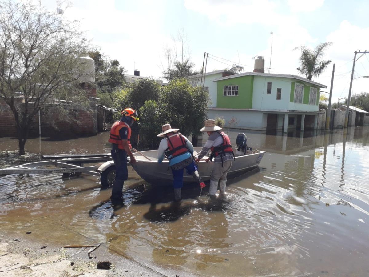 Continúan acciones de apoyo a la población en zonas afectadas porinundaciones, Personal de la Coordinación Estatal de Protección Civil mantienen monitoreo en el municipio de Abasolo, en los cauces de ríos y arroyos de municipiosaledaños.