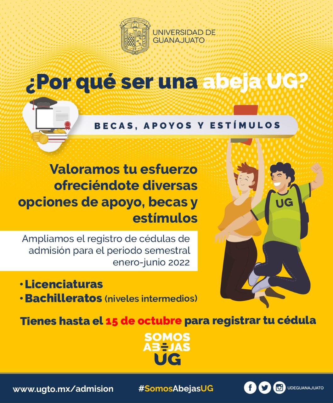 Amplía UG periodo de expedición de fichas de admisión